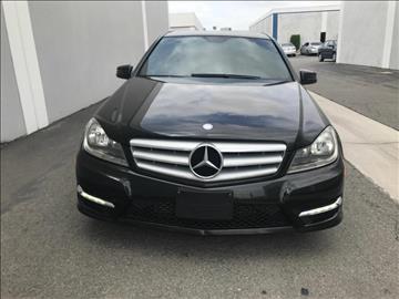 2012 Mercedes-Benz C-Class for sale in Yorba Linda, CA