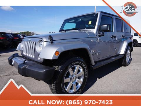 2017 Jeep Wrangler Unlimited for sale in Alcoa, TN