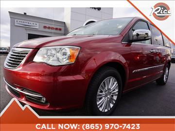 2016 Chrysler Town and Country for sale in Alcoa, TN
