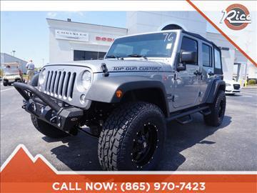 2017 Jeep Wrangler Unlimited for sale in Alcoa, TN