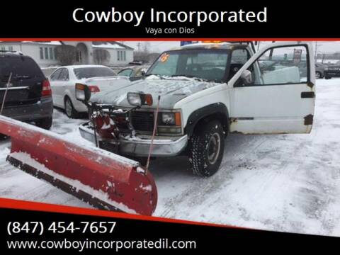1992 GMC Sierra 2500 for sale in Waukegan, IL