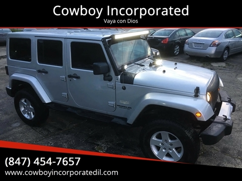 2009 Jeep Wrangler Unlimited for sale in Waukegan, IL
