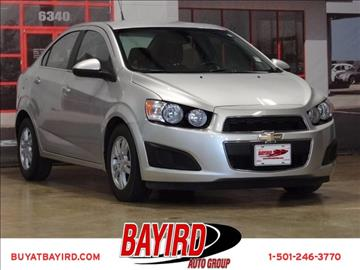 2012 Chevrolet Sonic for sale at Bayird Pre-Owned Supercenter of Little Rock in North Little Rock AR