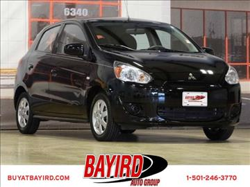 2014 Mitsubishi Mirage for sale at Bayird Pre-Owned Supercenter of Little Rock in North Little Rock AR