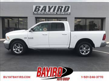 2016 RAM Ram Pickup 1500 for sale at Bayird Pre-Owned Supercenter of Little Rock in North Little Rock AR