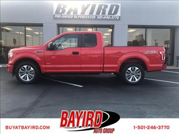 2017 Ford F-150 for sale at Bayird Pre-Owned Supercenter of Little Rock in North Little Rock AR