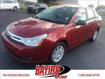 2011 Ford Focus for sale at Bayird Pre-Owned Supercenter of Little Rock in North Little Rock AR