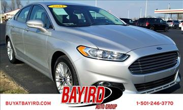 2014 Ford Fusion for sale at Bayird Pre-Owned Supercenter of Little Rock in North Little Rock AR