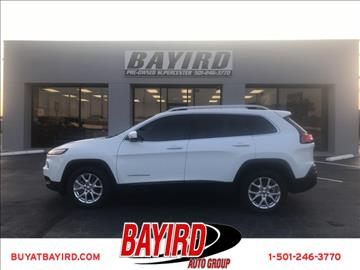 2014 Jeep Cherokee for sale at Bayird Pre-Owned Supercenter of Little Rock in North Little Rock AR
