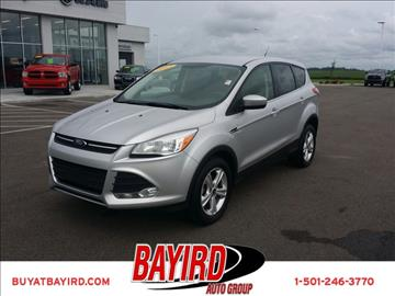 2013 Ford Escape for sale at Bayird Pre-Owned Supercenter of Little Rock in North Little Rock AR