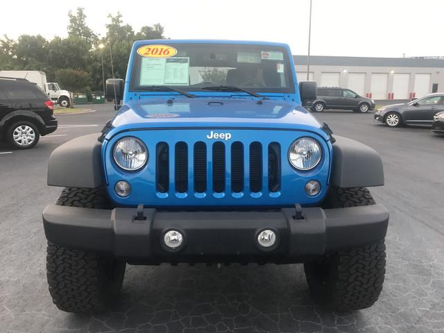 2016 Jeep Wrangler Unlimited for sale at Bayird Pre-Owned Supercenter of Little Rock in North Little Rock AR