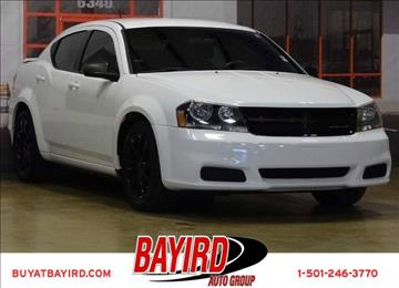 2014 Dodge Avenger for sale at Bayird Pre-Owned Supercenter of Little Rock in North Little Rock AR