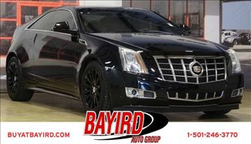 2012 Cadillac CTS for sale at Bayird Pre-Owned Supercenter of Little Rock in North Little Rock AR