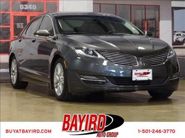 2016 Lincoln MKZ for sale at Bayird Pre-Owned Supercenter of Little Rock in North Little Rock AR