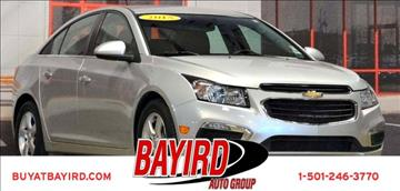 2015 Chevrolet Cruze for sale at Bayird Pre-Owned Supercenter of Little Rock in North Little Rock AR