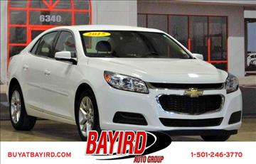 2015 Chevrolet Malibu for sale at Bayird Pre-Owned Supercenter of Little Rock in North Little Rock AR