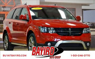 2017 Dodge Journey for sale at Bayird Pre-Owned Supercenter of Little Rock in North Little Rock AR