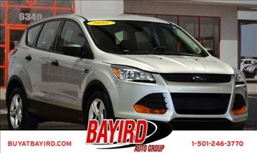 2016 Ford Escape for sale at Bayird Pre-Owned Supercenter of Little Rock in North Little Rock AR
