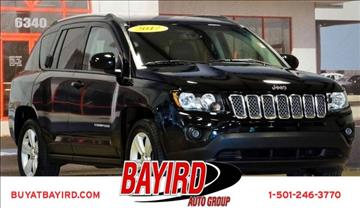 2017 Jeep Compass for sale at Bayird Pre-Owned Supercenter of Little Rock in North Little Rock AR