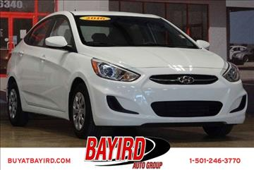 2016 Hyundai Accent for sale at Bayird Pre-Owned Supercenter of Little Rock in North Little Rock AR