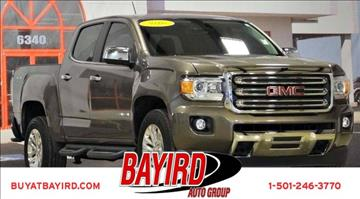 2016 GMC Canyon for sale at Bayird Pre-Owned Supercenter of Little Rock in North Little Rock AR