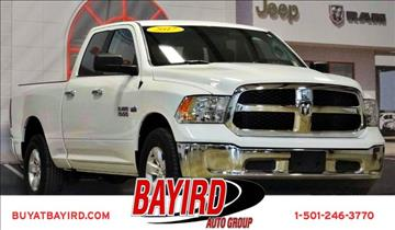 2017 RAM Ram Pickup 1500 for sale at Bayird Pre-Owned Supercenter of Little Rock in North Little Rock AR