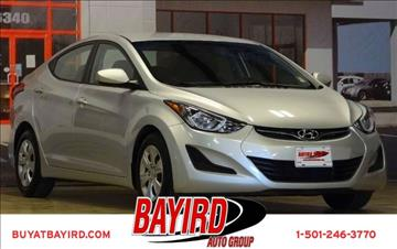 2016 Hyundai Elantra for sale at Bayird Pre-Owned Supercenter of Little Rock in North Little Rock AR