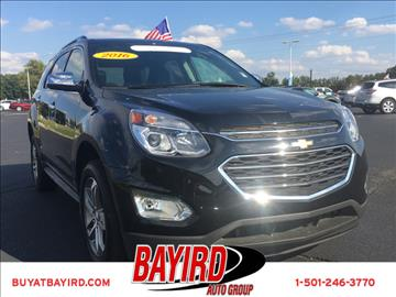 2016 Chevrolet Equinox for sale at Bayird Pre-Owned Supercenter of Little Rock in North Little Rock AR