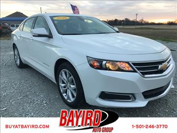 2016 Chevrolet Impala for sale at Bayird Pre-Owned Supercenter of Little Rock in North Little Rock AR