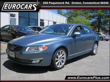2014 Volvo S80 for sale at EUROCARS PLUS in Groton CT