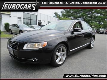 2010 Volvo S80 for sale at EUROCARS PLUS in Groton CT