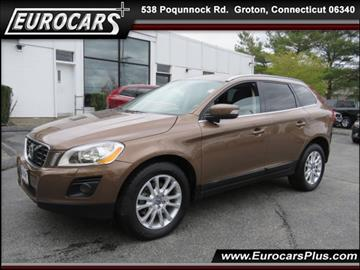 2010 Volvo XC60 for sale at EUROCARS PLUS in Groton CT