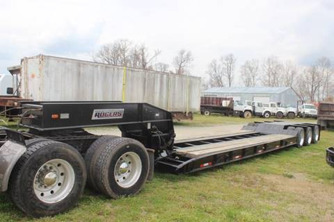 1989 Rogers 50 Ton Lowboy for sale in Goldsboro, NC