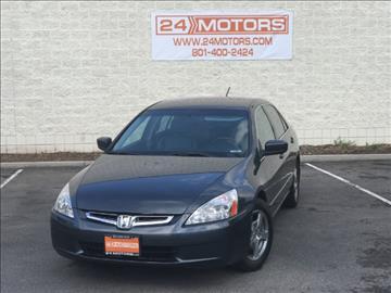 2005 Honda Accord for sale at 24 Motors in Orem UT