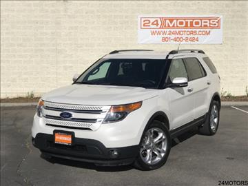 2014 Ford Explorer for sale at 24 Motors in Orem UT
