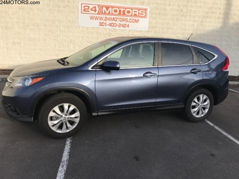 2012 Honda CR-V for sale at 24 Motors in Orem UT