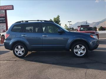 2010 Subaru Forester for sale at 24 Motors in Orem UT