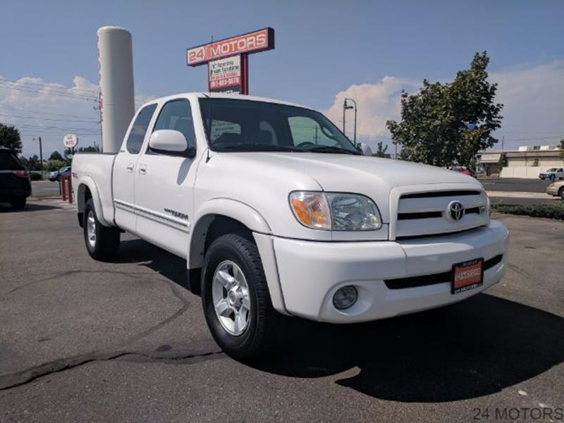 2005 Toyota Tundra for sale at 24 Motors in Orem UT