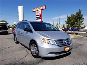 2012 Honda Odyssey for sale at 24 Motors in Orem UT