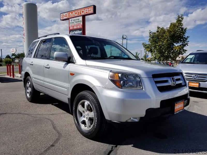 2008 Honda Pilot for sale at 24 Motors in Orem UT