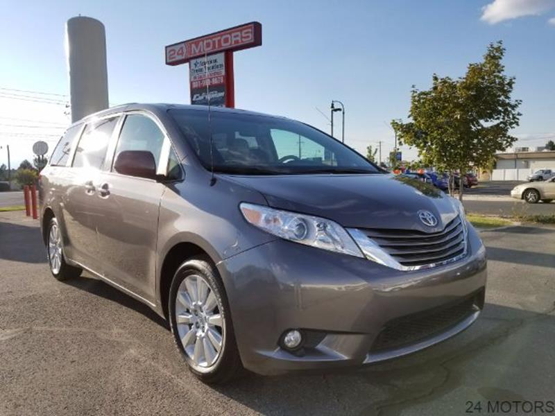 2012 Toyota Sienna for sale at 24 Motors in Orem UT
