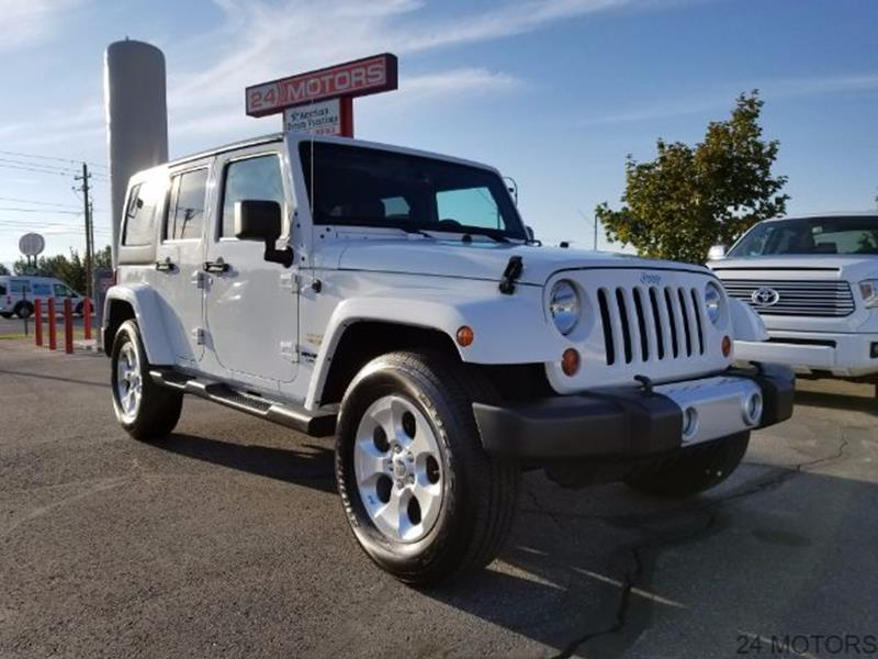 2013 Jeep Wrangler Unlimited for sale at 24 Motors in Orem UT