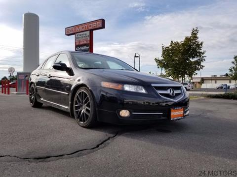 2008 Acura TL for sale at 24 Motors in Orem UT