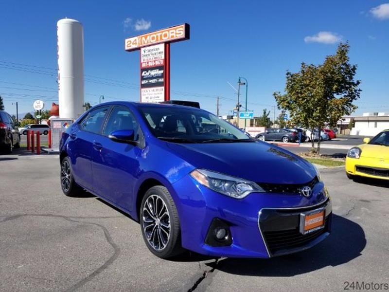 2014 Toyota Corolla for sale at 24 Motors in Orem UT