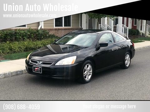 2006 Honda Accord for sale in Union, NJ