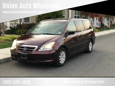 2007 Honda Odyssey for sale in Union, NJ