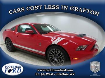 2011 Ford Shelby GT500 for sale in Grafton, WV