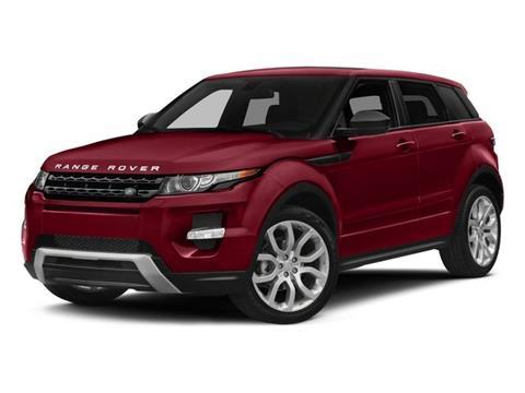 2015 Land Rover Range Rover Evoque for sale in Grafton, WV