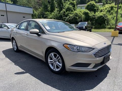 2018 Ford Fusion for sale in Grafton, WV