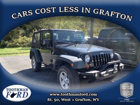 2013 Jeep Wrangler for sale in Grafton, WV